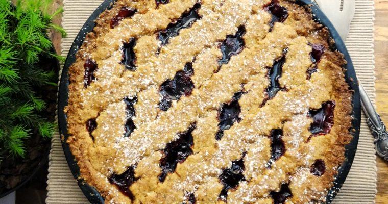 Мікдаловий  торт (Linzer Torte)