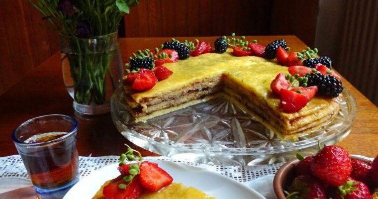 Торт цукровий