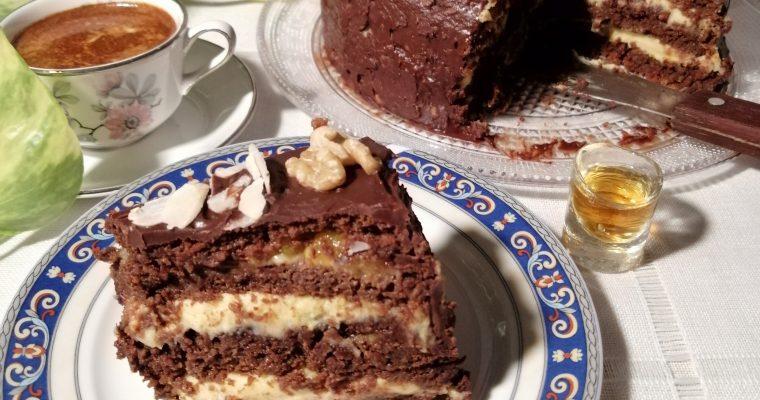 Чеколядовий торт ч.2